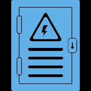חיבור לוח חשמל 3 פאזות