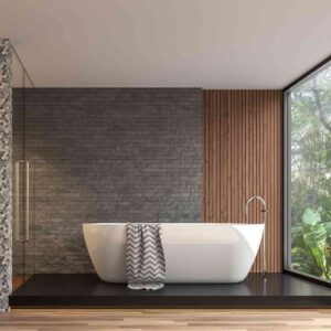 חיבור חשמל של מפזר חום לאמבטיה